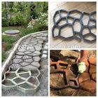 Popular paving stone Cement Form concrete mould for garden