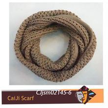 2014 la moda de invierno de punto de ganchillo de la bufanda