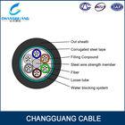 Loose tube fiber Optic Cable GYTS/GYTA/GYTY 4 core multimode fiber optic cable