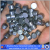 P type tungsten carbide flat top buttons