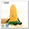 alta qualidade de pelúcia brinquedo de pelúcia vegetais de milho