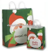 Fahional customized christmas paper bag