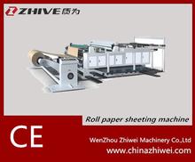 Roll paper cutting machinery