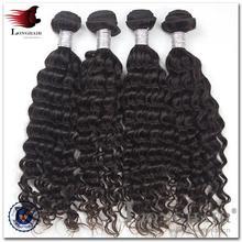 Hot Beauti 100% Human Unprocess Virgin Extens top quality virgin brazilian tight curly hair