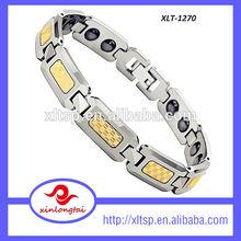 Top Wholesale Pure Titanium Magnetic Therapy Bracelet