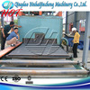 Multipurpose steel plate pallet cleaning machine for surface preparation