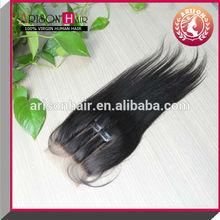 3 way part wholesale brazilian hair virgin light yaki closure