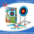 Venda quente jogo set brinquedo esporte arco e flecha com alvo