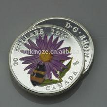 2012 Canada Dollar coin set Elizabeth II silver Bumblebee coin