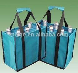 BSCI AUDITED tote bag/canvas tote bagt/wine cooler plastic bag