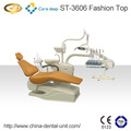 Unidad dental st-3606( tipo de moda) montado en la parte superior