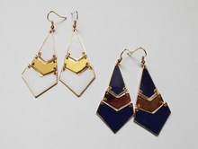 New Arrival Fashion Brand Designer Exclusive Gold Plated Charms Dangle Earring Quality Garantee Not Lost Color Stamp