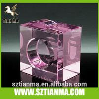 Crystal 3d laser stand display