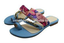 2015 latest fashion leather sandals chappals