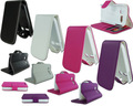 para alcatel one touch pop c1 slim flip couro vertical bolsa cobrir