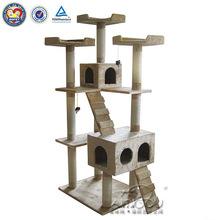 LuxuryDesign Bamboo Cat Tree Bamboo Cat House