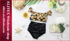 2014 hot padded high waisted wholesale hot sexy xxx bikini girl swimwear photos