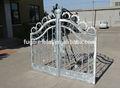 antique ferro forjado driveway portão deslizante