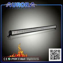 E-mark certified aurora 50inch LED light bar / 120w led off road light bar