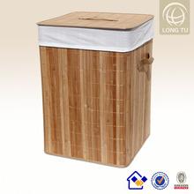 Innovative products for import homeware item bamboo laundry hamper basket alibaba china