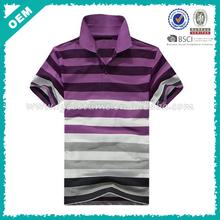 Polo shirt vertical stripe , color separation shirt , color mixture shirts (lyt03000319)