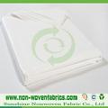 Baratos 100% pp não tecidos descartáveis roupa de cama em rolo