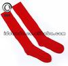 2014 Newest Red Football Socks High Quality Custom Design Sport Socks Men Soccer Socks