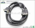 estándar de pvc chapado en níquel vga cable de especificaciones técnicas