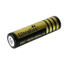 100% Brand New Protection Rechargeable Battery 1pcs 3.7v LI-LION 18650 4000mAh cheap batteries