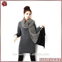 New Women Fashion Knit Striped Scarf Pattern