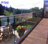 Manufacturer of stainless steel glass channel balustrade
