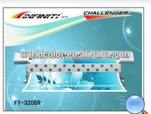 Challenger FY3208R Economic Large Format Printer ( 8 SPT510/35pl head, high quality)