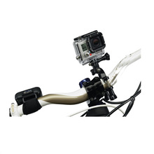 Bicycle Bike Handlebar Seatpost Pole Mount for Sport Camera GoPro HD HERO 1 2 3