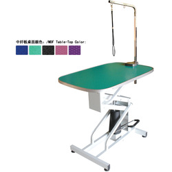 2014 Best selling hydraulic &foot pump dog grooming table for dogs N-110