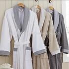 100% Cotton Terry shawl Collar Bathrobe for Men