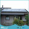 black solar panel with A grade solar cell for home power system