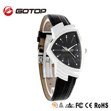 China Watches Wholesale Cheap Leather Triangle Watch