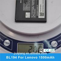 BL194 1500mAh Battery for Lenovo A288T A520 A690 A298t A710E S686 A530