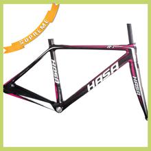 2014 hot sell carbon road bike frame 3K/UD/UND finished carbon road bike frame 60cm