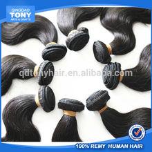 High quality AAAAAA Brazilian virgin hair, fashion loose wave human hair weft