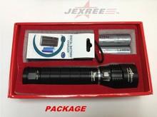 Jexree cree xm-l t6 led flashlight cree led power style flashlight