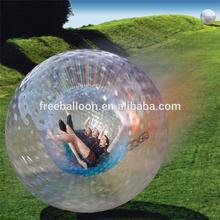 Cheap TPU aqua zorbing ball, human hamster balls for adult