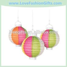 Beach Ball Light-Up Paper Lanterns