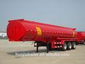 Aceite semi remolque cisterna/aceite de transporte camiones cisterna a la venta