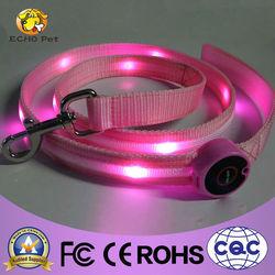 Christmas pet products electronic led dog leash