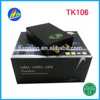 Global gps vehicle tracker with monitoring free software backup battery TK106