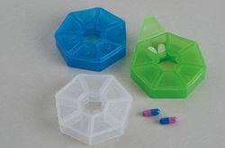 Plastic Pill Box / Plastic Medicine Boxes / Round Pill Cases