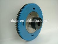 High strength ISO9001:2008 OEM anti-backlash taper gear
