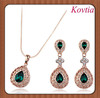 2014 Top Sale Beautiful Design 18k gold plated Jewelry Sets Thai Gold Indian Jewelry Set