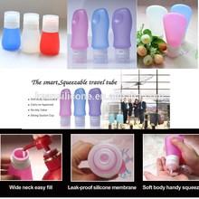Travel Set Toiletries/ BPA Free Leak-proof Silicone Travel Set Toiletries Silicone Bottles